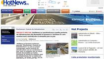 Sectiunea Proiecte de infrastructura a HotNews