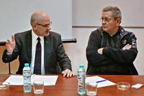 Seful CNADNR, Narcis Neaga si ministrul Transporturilor, Ioan Rus