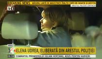 Elena Udrea, eliberata din Arestul Politiei
