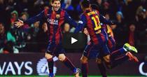 Messi, gol decisiv pentru Barcelona