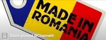 Protestul romanilor din Londra impotriva Channel 4