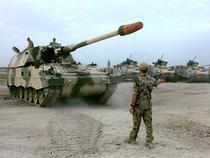 Obuzier PzH 2000 din dotarea Armatei Germane