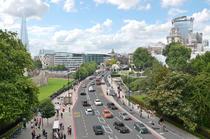 Propunere autostrada pentru biciclisti Londra