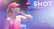 Maria Sharapova, lovitura lunii ianuarie
