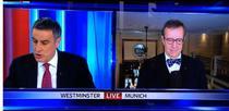 Gafa televizata cu presedintele Estoniei