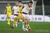 Milan, remiza la Verona