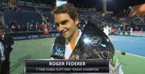 Roger Federer, rege la Dubai