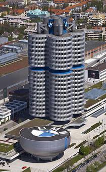 Turnul si muzeul BMW din Munchen, Germania