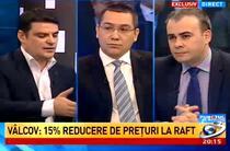 Victor Ponta si Darius Valcov la Antena 3