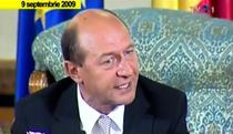 Traian Basescu, septembrie 2009