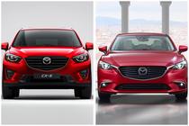 Mazda CX-5 si Mazda6
