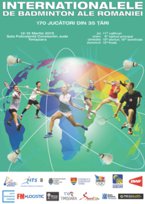 Internationalele de Badminton ale Romaniei 2015