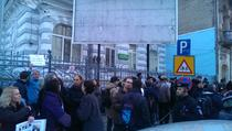 FOTOGALERIE Protest Ambasada Frantei