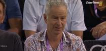 John McEnroe, contrariat de slice-ul Monicai Niculescu