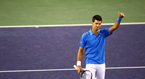Novak Djokovic, la Indian Wells
