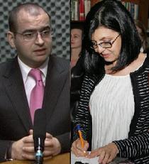 Horia Georgescu si Meglena Cuneva