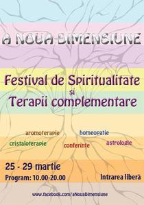 Festivalul de Spiritualitate si Terapii Complementare