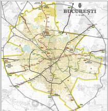 Proiectul centurii feroviare si interconectarea cu magistralele de metrou la nivelul anului 2030