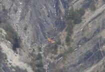 Elicopter spre ramasitele avionului Germanwings