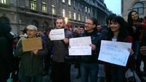 Protest la Universitate
