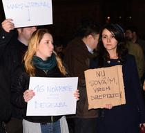 Protestul de la Universitate - 25 martie 2015