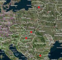 Bulgaria, Ungaria, Slovacia, Lituanua