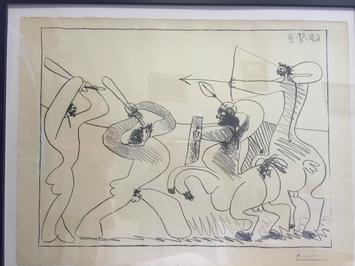 Pablo Picasso - Lupta Centaurilor III