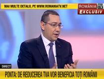 Victor Ponta, la Romania TV