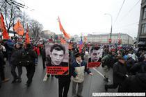 Mars in memoria lui Boris Nemtsov
