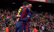Leo Messi si Luis Suarez