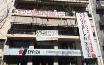 Anarhistii au ocupat sediul Syriza