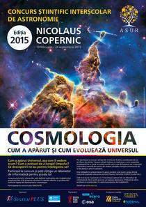 Afisul Concursului Stiintific Interscolar Nicolaus Copernic