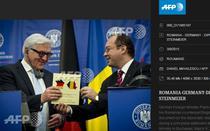Steinmeier, Aurescu si harta buclucasa