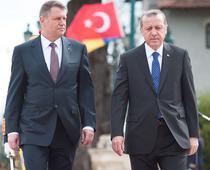 Klaus Iohannis si Recep Erdogan