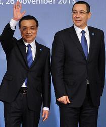 Premierul chinez Li Keqiang, alaturi de omologul roman, Victor Ponta, la Bucuresti