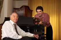 Gabriel Croitoru si Valentin Gheorghiu: foto Virgil Oprina