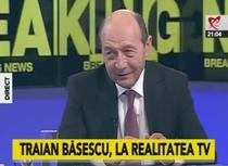 Traian Basescu la Realitatea TV