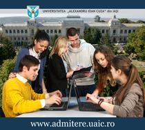 Admitere Universitatea Alexandru Ioan Cuza, Iasi