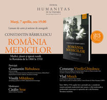 "Lansare volum ""Romania medicilor"", de Constantin Barbulesc"