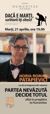 Lectura publica cu H.R. Patapievici