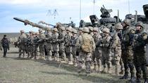 Militari NATO intr-un exercitiu in Romania
