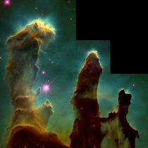 Eagle Nebula 1995, Hubble