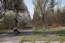 Cernobil - intrarea in oras