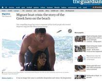 Deligiorgis, grecul ce a salvat singur din mare 20 de imigranti
