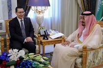 Victor Ponta si regele Arabiei Saudite