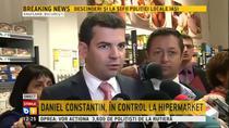 Daniel Constantin in control