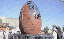 Cel mai mare ou de Paste din lume