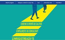 Captura site www.garantiapentrutineret.ro