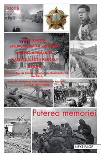 """Masa rotunda """"Puterea memoriei"""", promovata de Centrul de cultura rusa pe Facebook"""