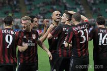 Milan, succes pe San Siro in fata Romei